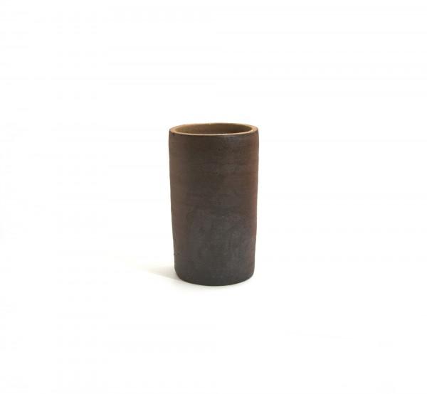 Pflanztopf zylindrisch hoch S, natur, Ø 19 cm,