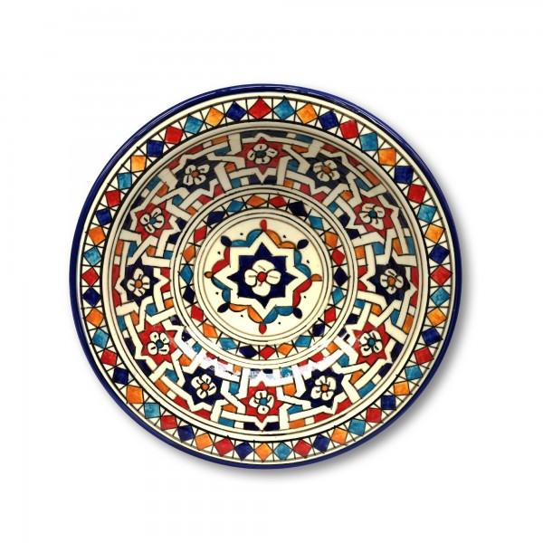 Zierkeramikteller 'Andalouss', Ø 28 cm, H 6,5 cm