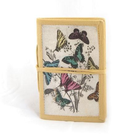 "Notizbuch ""Homa"" aus handgeschöpftem Papier, B 10 cm, H 15 cm"