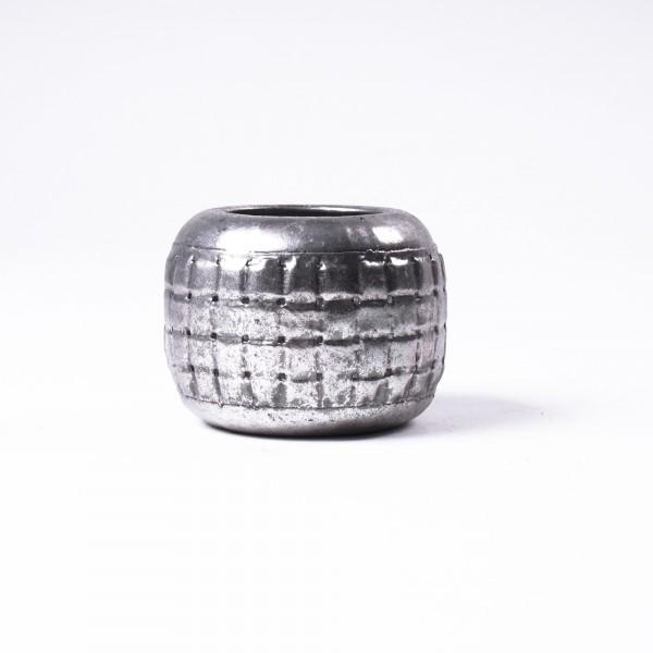 """Windlicht """"Auburn S"""" aus Metall, Ø 9 cm, H 9 cm"""
