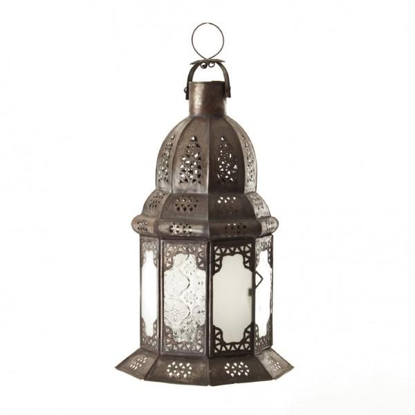 Laterne 'Fnar Petit', antik-rost, H 34 cm
