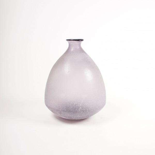 Glasvase gefrostet, Ø 26 cm, H 33 cm