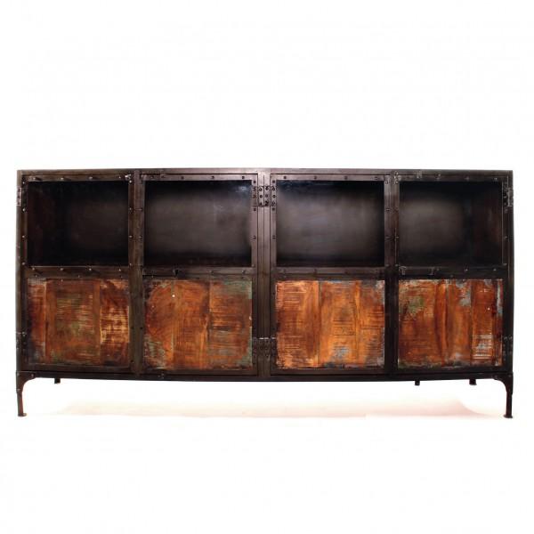 Sideboard 'Jeffrey', braun, L 41 cm, B 203 cm, H 102 cm