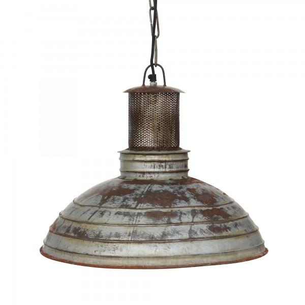 Leuchte 'Strainer', grau, braun, Ø 48 cm, H 39 cm