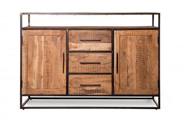 Sideboard 'Sveg', braun, T 40 cm, B 150 cm, H 105 cm