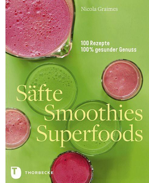 Buch 'Säfte Smoothies Superfoods'