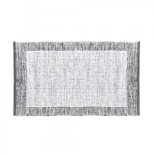 Mini-Rug 'Cherla', weiß, grau, T 60 cm, B 90 cm
