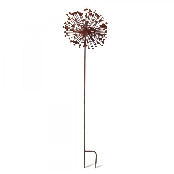 Gartenstecker 'Pusteblume', Ø 32 cm, H 120 cm