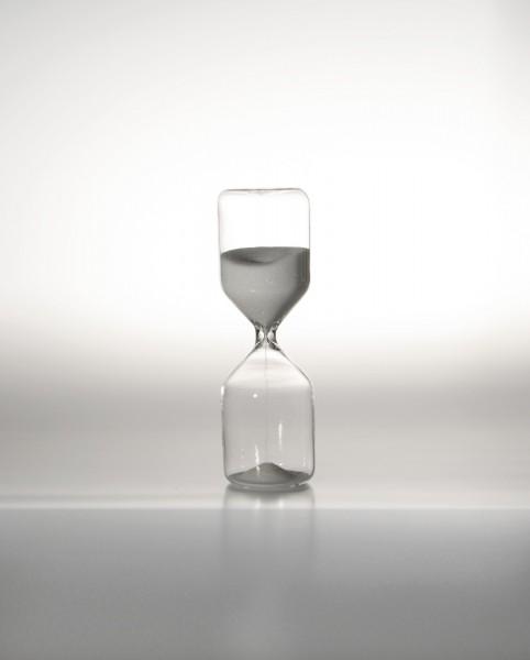 Sanduhr, 10 Minuten, Ø 5 cm, H 15 cm