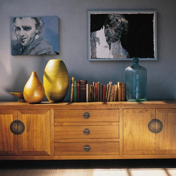 Sideboard, natur, H 58 cm, B 190 cm, T 58 cm