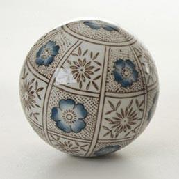 "Keramikkugel ""Herbst"", Ø 10 cm"