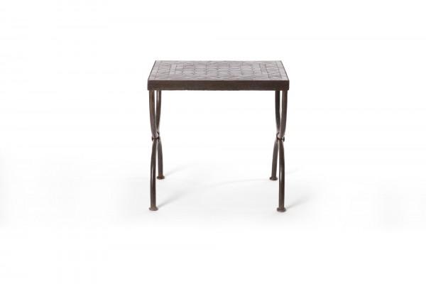 rechteckiger Tisch / Beistellstisch L, schwarz, T 50 cm, B 30 cm, H 50 cm