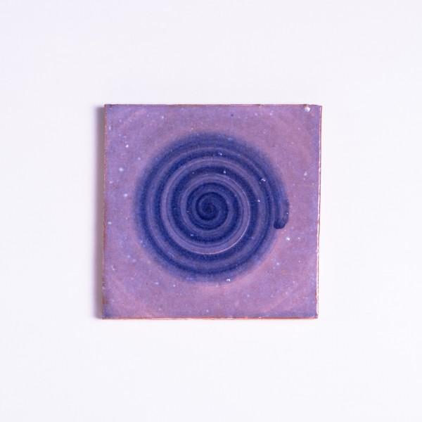 Kachel rond, T 10 cm, B 10 cm, H 1 cm