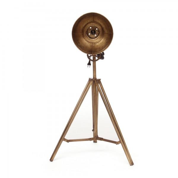Stehleuchte 'Willis', kupfern, T 30 cm, B 28 cm, H 132 cm