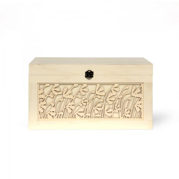 Box 'Felce' S, natur, T 22 cm, B 31,5 cm, H 17 cm