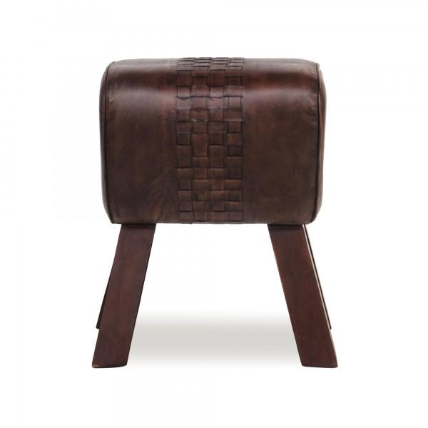 Sitzbock 'Nick', braun, T 44 cm, B 31 cm, H 51 cm