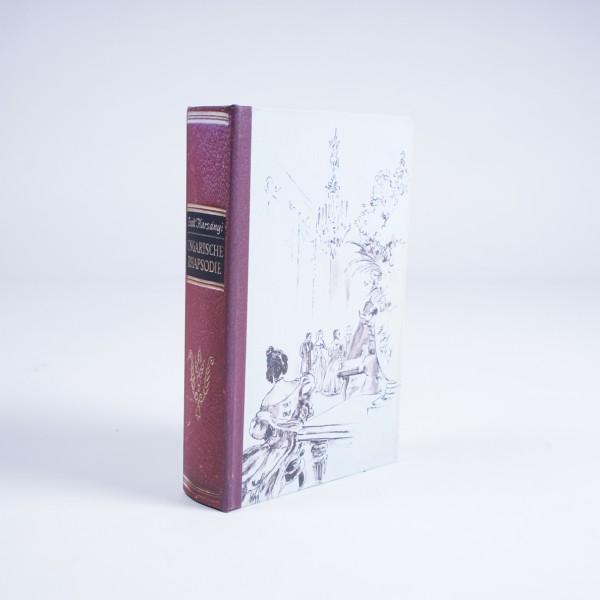 """Buch-Tresor """"Rhapsodie"""", L 5 cm, B 16 cm, H 24 cm"""