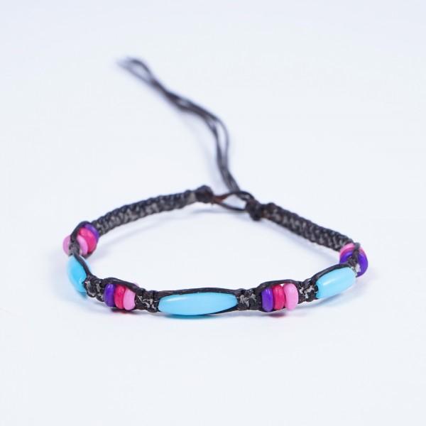 "Armband ""Rachel"", handgefertigt, multicolor"