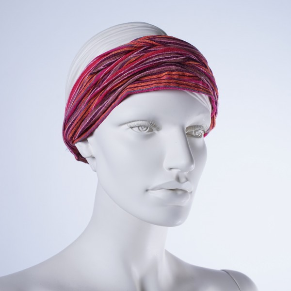 Haarband 'Austin', aus 100% Baumwolle, rot