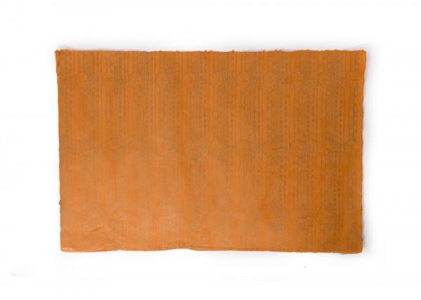 """Geschenkpapier """"Sunset"""", handgeschöpft, L 51 cm, B 76 cm"""