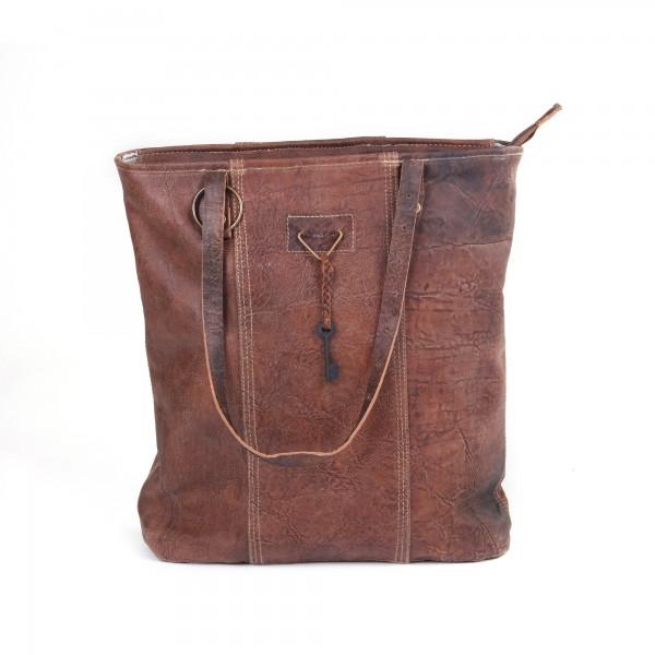 "Umhängetasche ""Cosi"", aus Leder, braun, B 40 cm, H 40 cm"