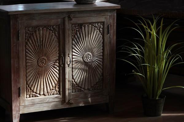 Kommode 'Nanda', 2 Türen, L 44 cm, B 97 cm, H 92 cm