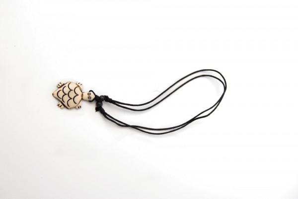 Amulett Horn einfach, natur