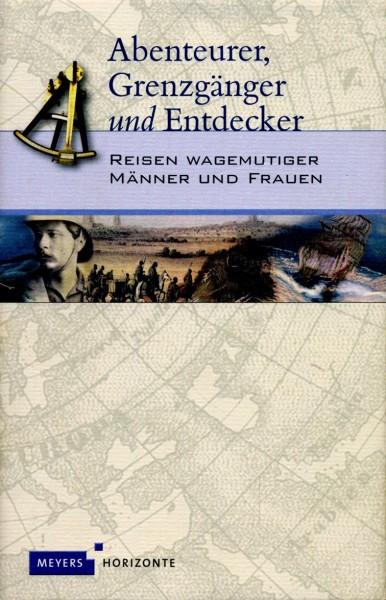 Buch 'Abenteurer, Grenzgänger und Entdecker'