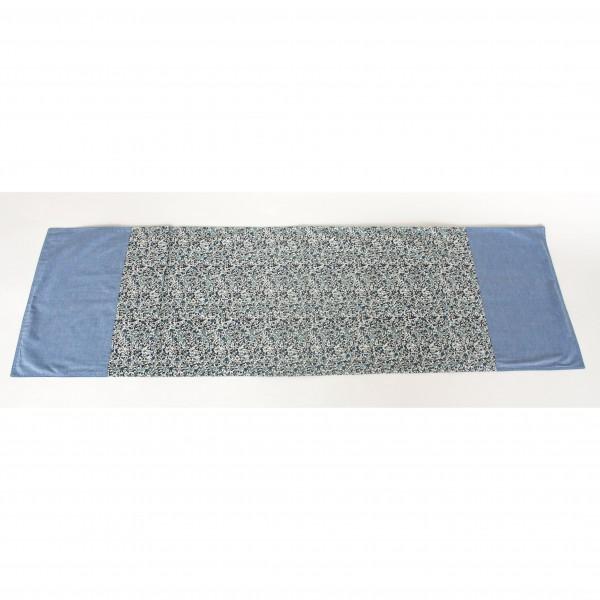 """Tischläufer """"Alva"""", blau/weiß, L 150 cm, B 45 cm"""
