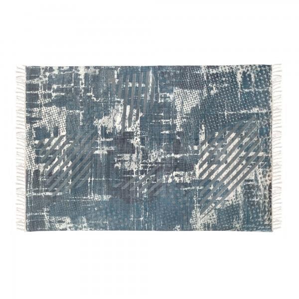 Teppich 'Jarad', grau, weiß, T 140 cm, B 200 cm