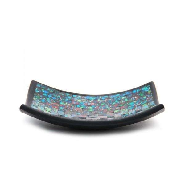 "Glasmosaikteller ""Renoir"", multicolor, L 25 cm, B 25 cm, H 6 cm"