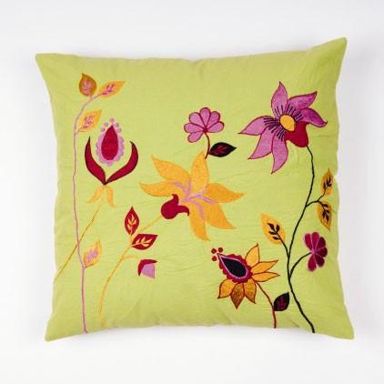 """Kissenhülle """"Orchidee"""", multicolor, L 40 cm, B 40 cm"""