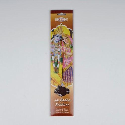 Räucherstäbchen 'Jai Radha Krishna'