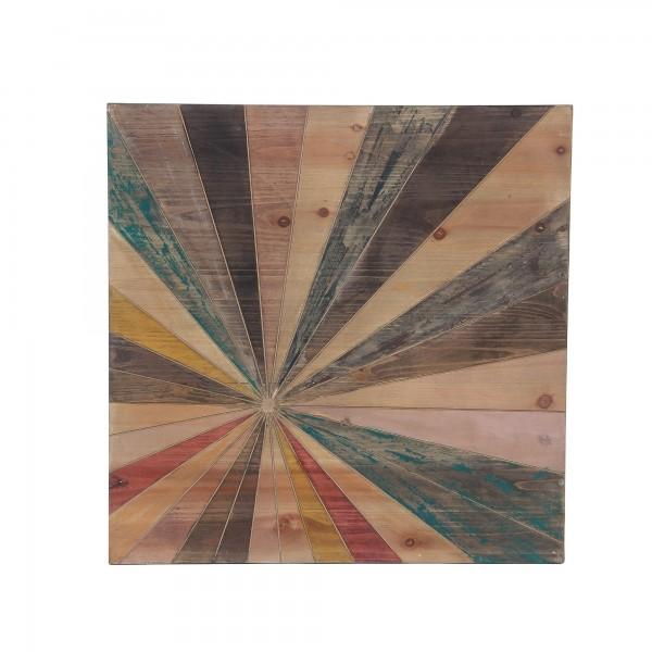 Wandbild 'Tara', natur, T 3 cm, B 61 cm, H 61 cm