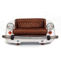 Sofa 'Ambassador Classic', Front, 2-Sitzer, weiß, T 70 cm, B 158 cm, H 83 cm