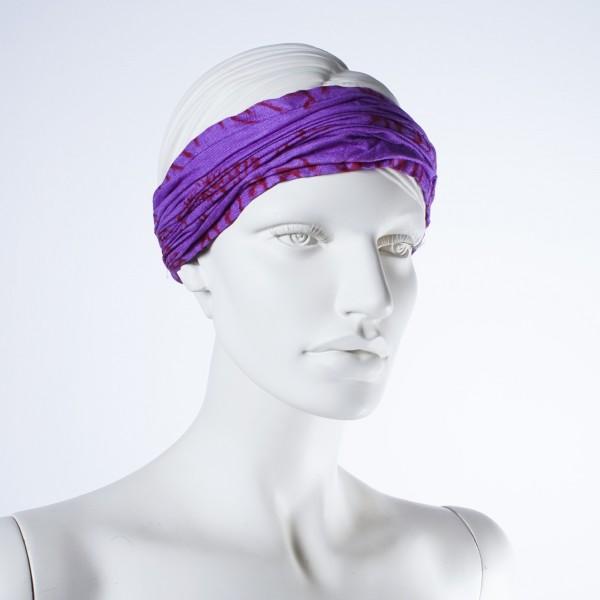 "Haarband ""Colorado"", aus 100% Baumwolle, lila"