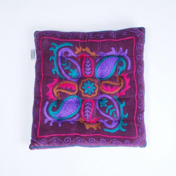 "Kissen ""Purple Rain"", lila, L 40 cm, B 40 cm"