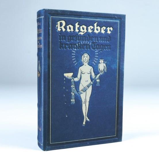 "Buch-Tresor ""Ratgeber"", L 5 cm, B 16 cm, H 24 cm"