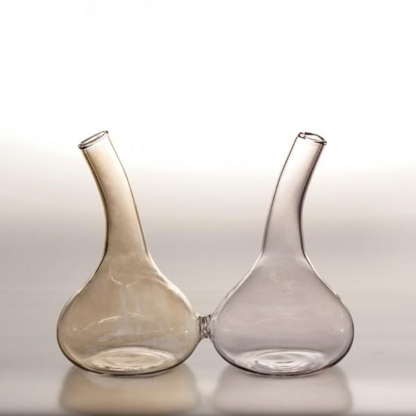 """Glasvasen-Duo """"Farum"""", B 14 cm, H 11 cm"""