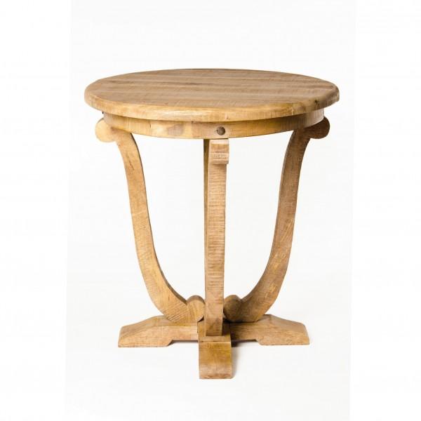 """Tisch """"Shutter"""", aus massivem Mangoholz, Ø 68 cm, H 75 cm"""