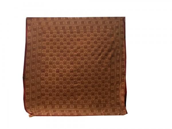 """Tagesdecke """"Haathee"""", aus 100% Baumwolle, braun, L 210 cm, B 245 cm"""