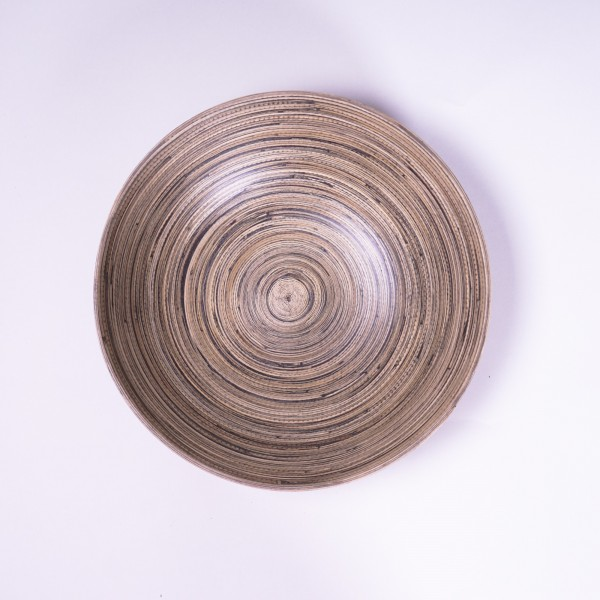 Bambusschale, natur, Ø 30 cm, H 8 cm