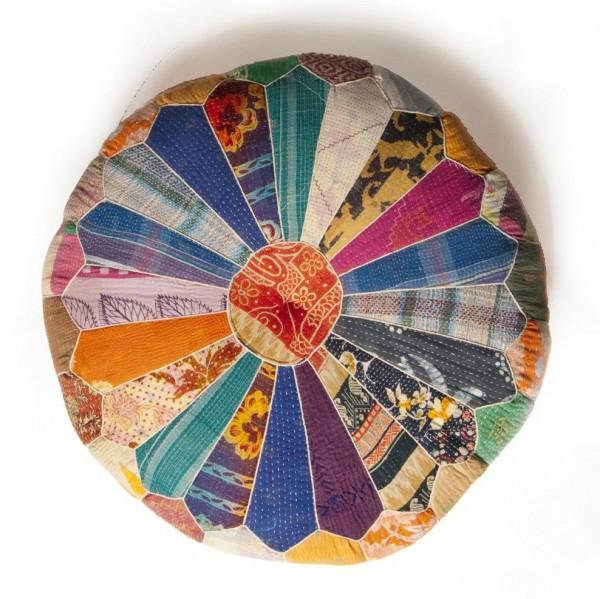 """Sitzpouf """"Chili"""", H 20 cm, multicolor, Ø 60 cm"""