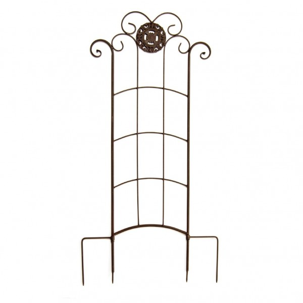 Rankgitter 'Celine', antik-braun, H 110 cm, B 49 cm