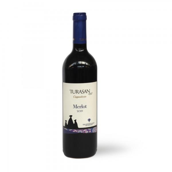 Turasan Merlot trockener Rotwein 750 ml