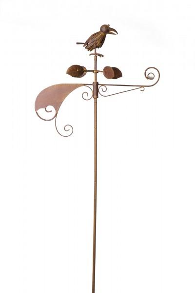 """Windrose """"Krähe"""", kugelgelagert, B 48 cm, H 155 cm"""