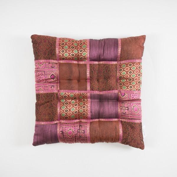 Sitzkissen, multicolor, L 40 cm, B 40 cm, H 5 cm