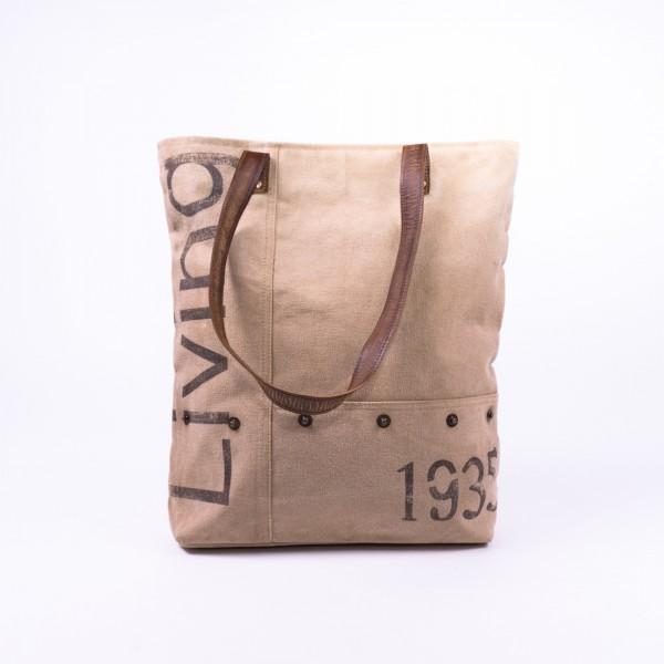 """Umhängetasche """"Living"""", beige, B 43 cm, H 43 cm"""