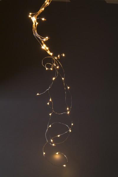 Lichter-Traube 'Bertogne', 125 LED, 12 Strippen, 140cm