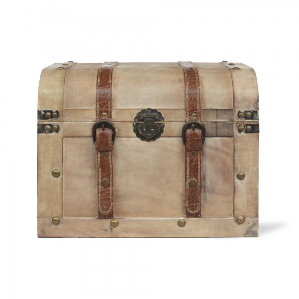Koffertruhe 'Bura' L, natur, T 40 cm, B 30 cm, H 30 cm